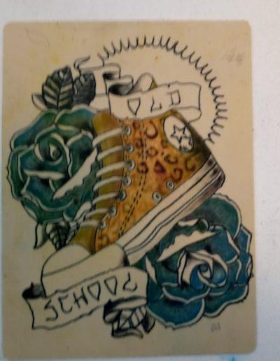 curso tatuaje oldschool