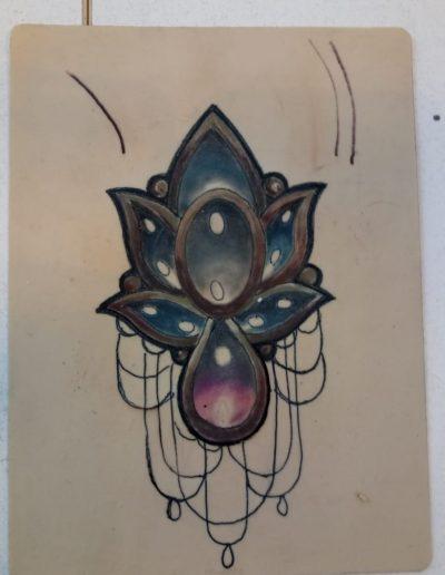 curso de tatuaje colgantes