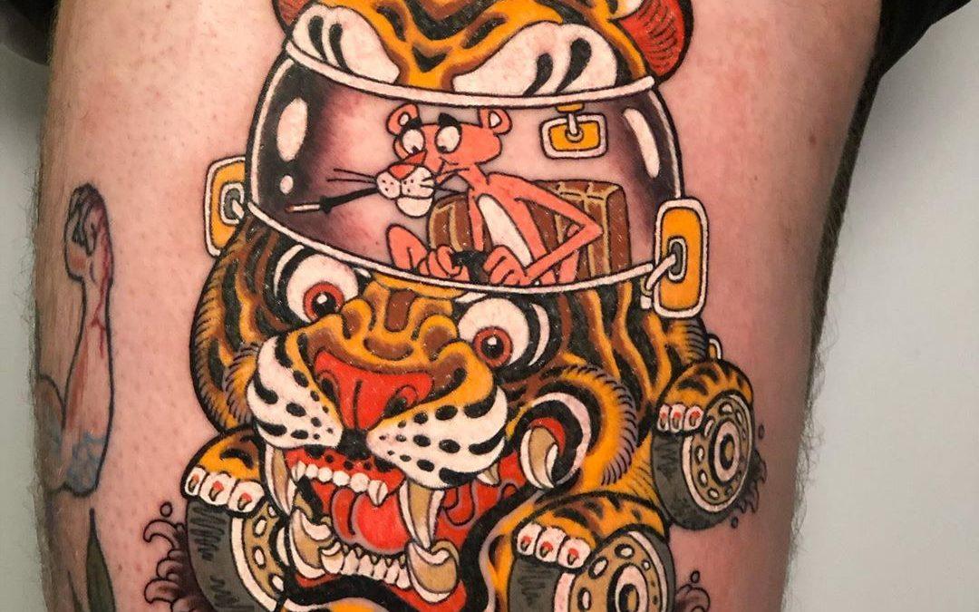 Diseño de tatuaje original